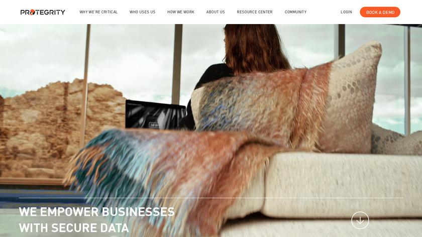 Enterprise Security Landing Page