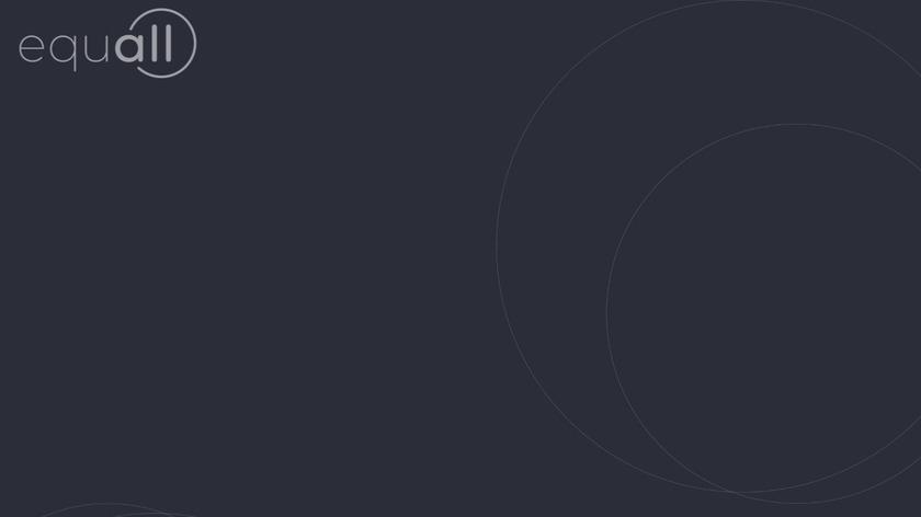 Equall Landing Page