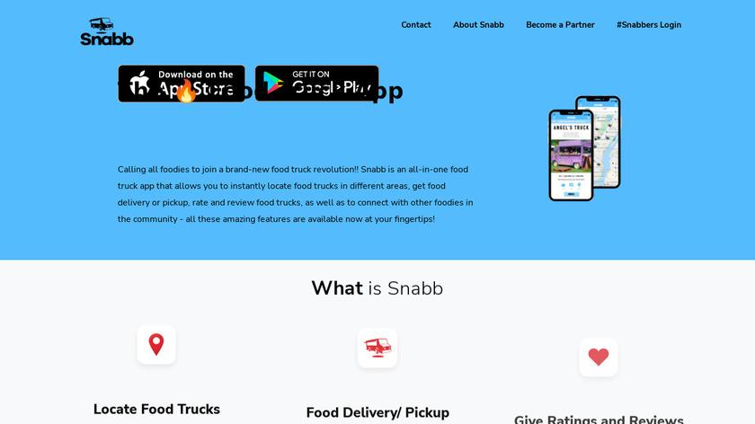 Snabb Landing Page