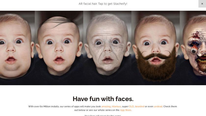 Beardify – Beard Photo Booth Landing Page