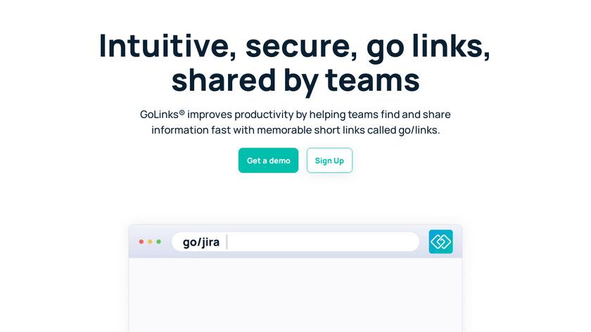 GoLinks Landing Page