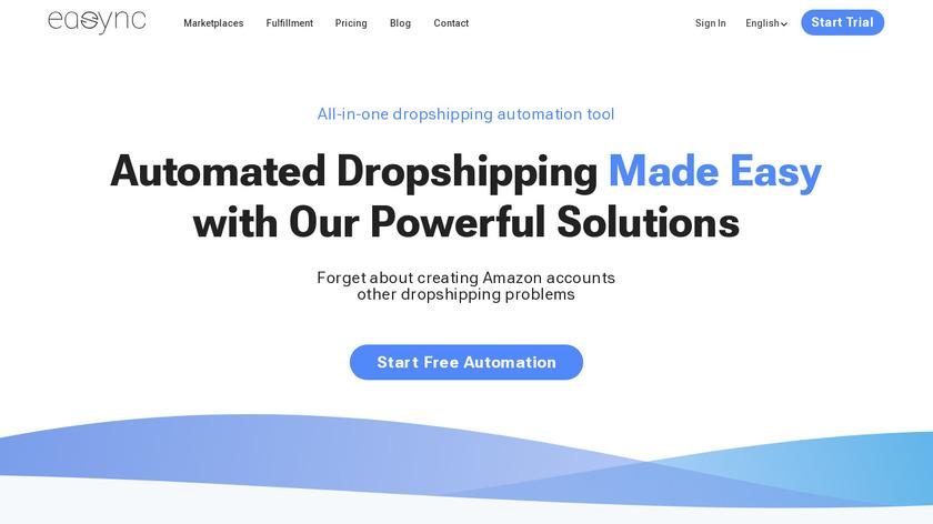 Easync Landing Page