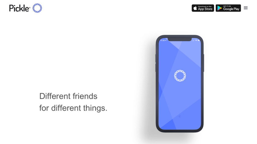 Pickle Landing Page