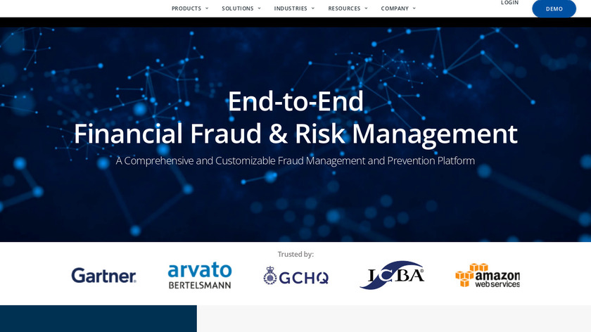 Fraud.net Landing Page