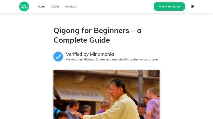 Qigong Landing Page