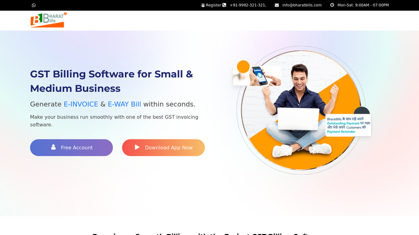 BharatBills Landing Page