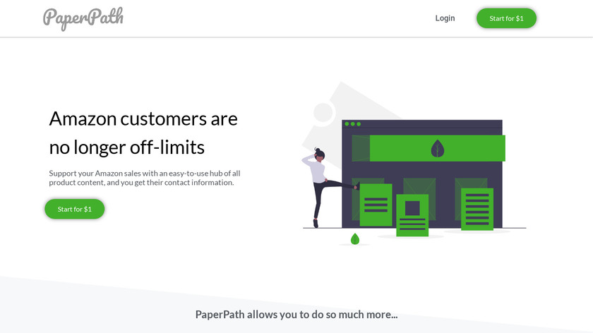 PaperPath Landing Page