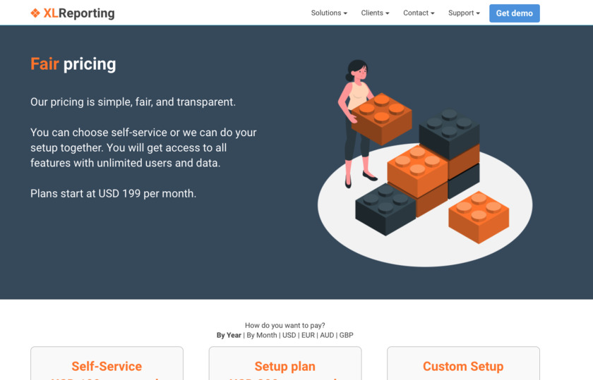 XLReporting Pricing