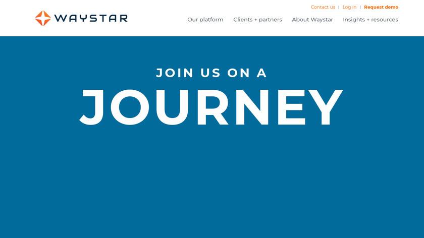 Waystar Landing Page