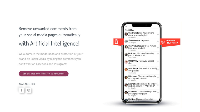 BrandFort Landing Page