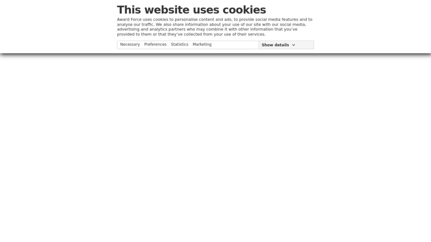 Award Force Landing Page
