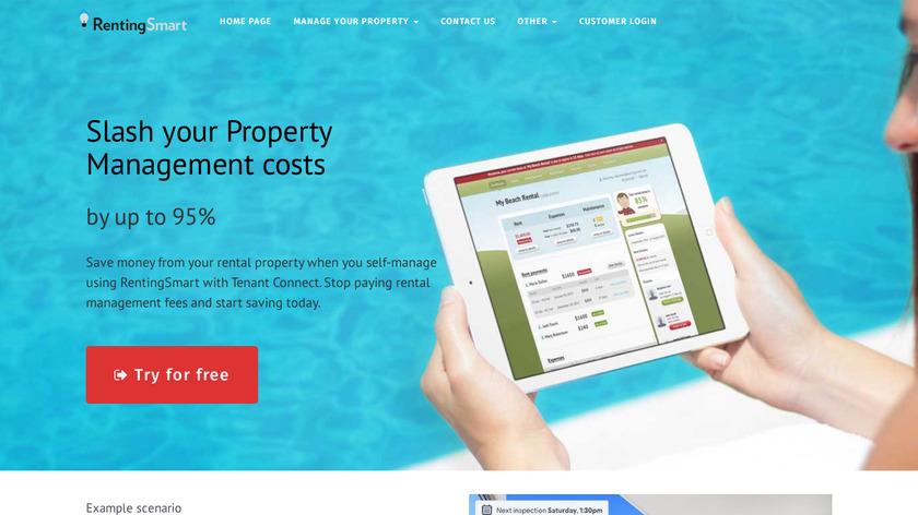 Rentingsmart Landing Page