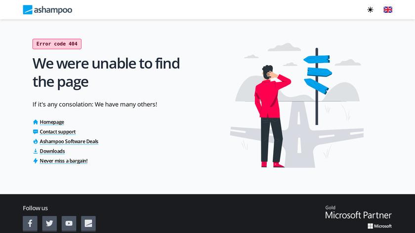 Ashampoo WinOptimizer Landing Page