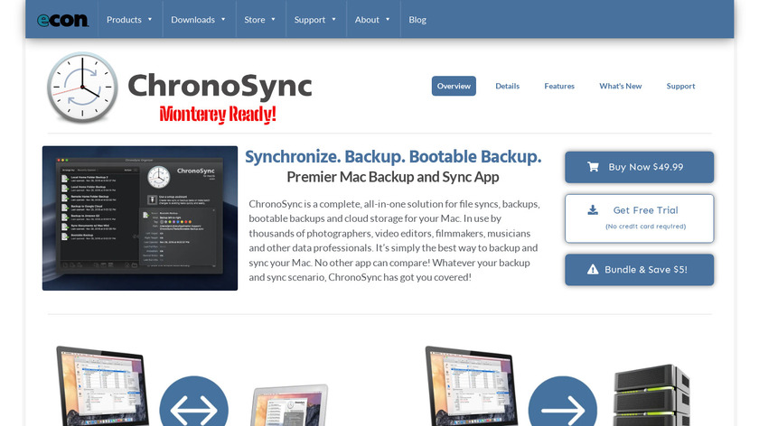 ChronoSync Landing Page