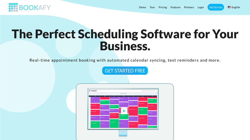 Bookafy Landing Page