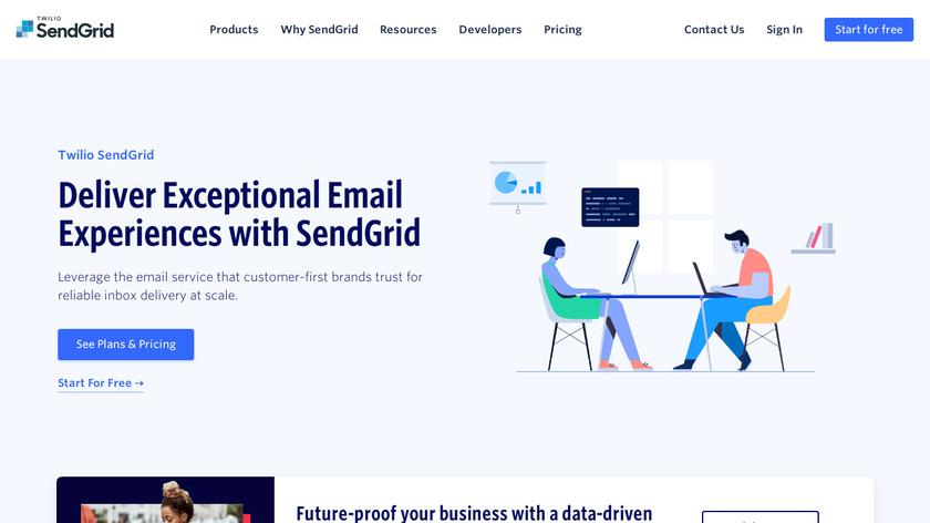 SendGrid Landing Page