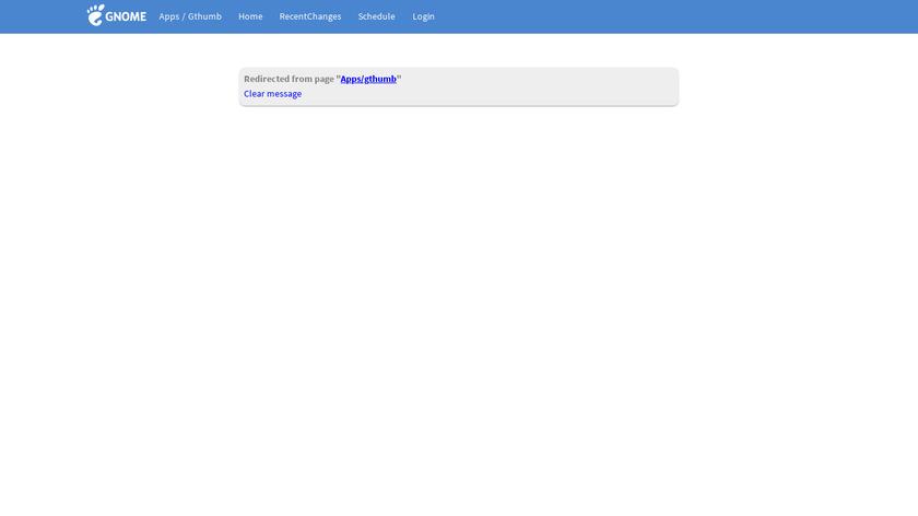 gThumb Landing Page