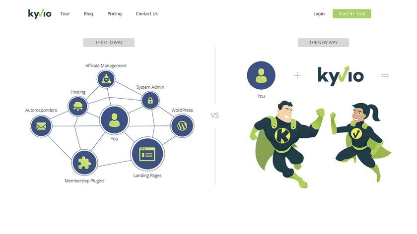 InstaSuite Landing Page