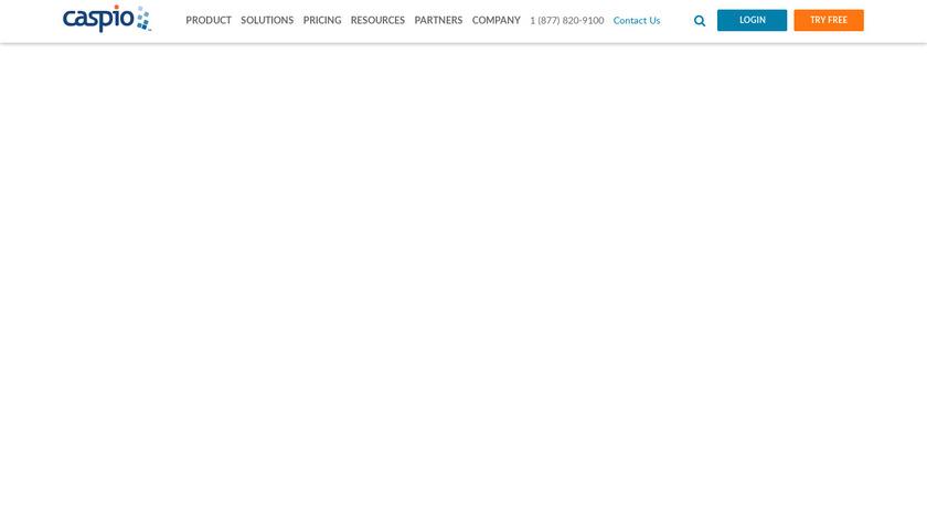 Caspio Landing Page