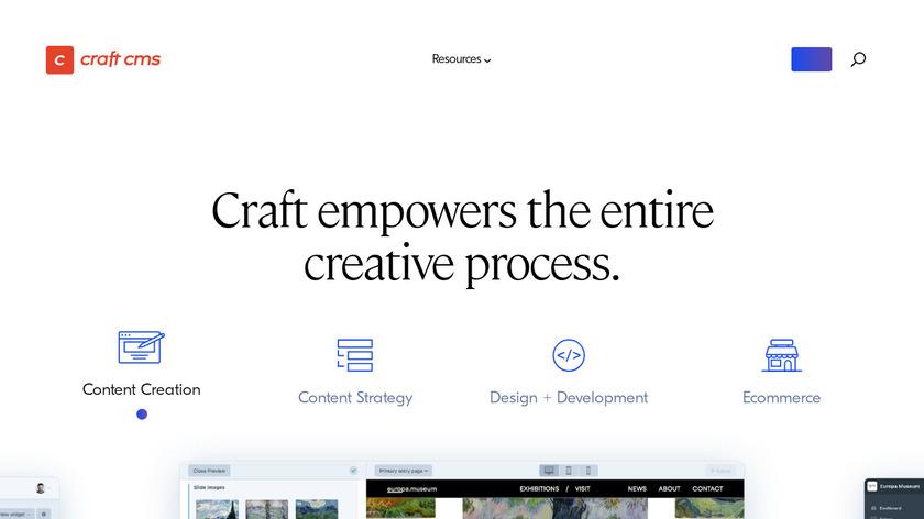 Craft CMS Landing Page