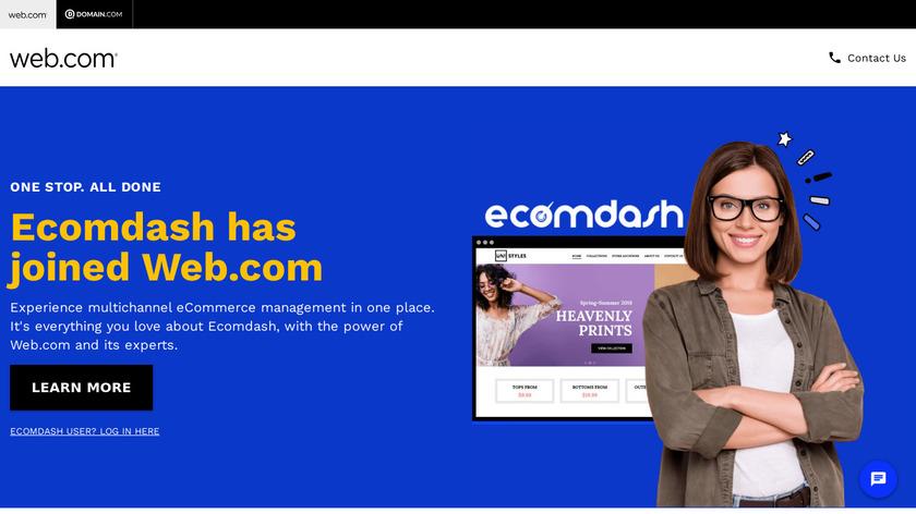 ecomdash Landing Page