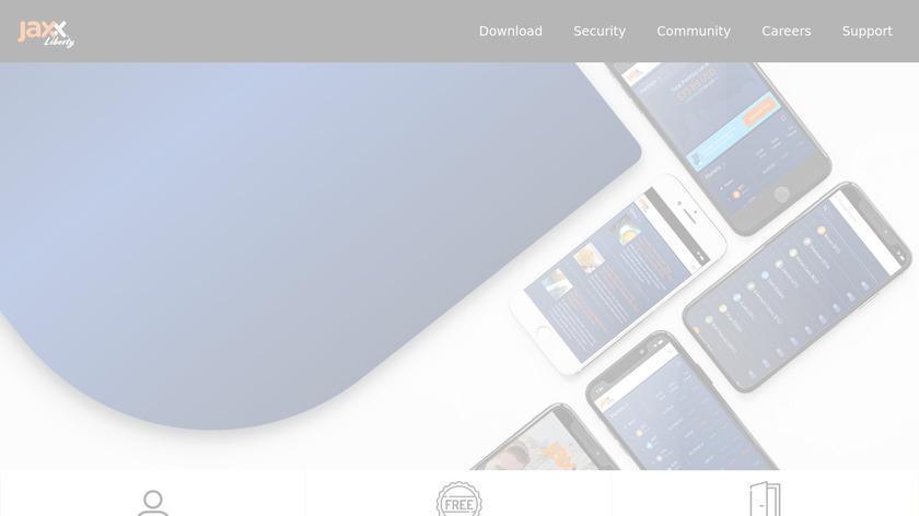Jaxx Landing Page