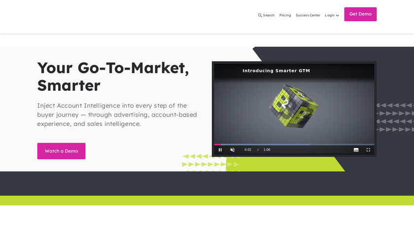 InsideView Landing Page