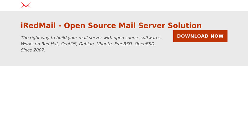 iRedMail Landing Page