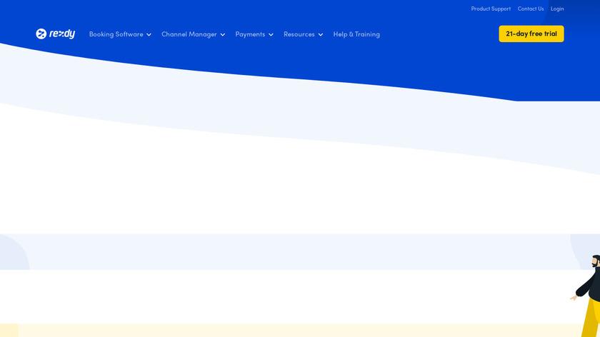 Rezdy Landing Page