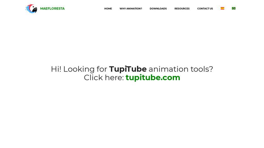 Tupi Landing Page