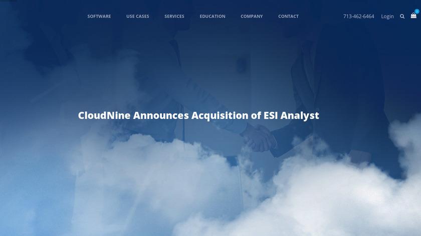 CloudNine Landing Page