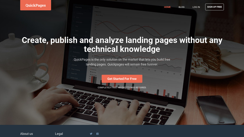 QuickPages Landing Page
