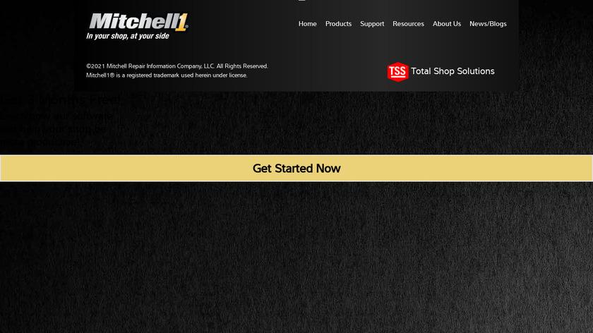 Mitchell 1 Landing Page