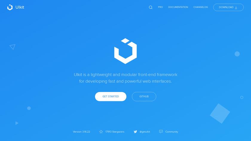 UIKit Landing Page