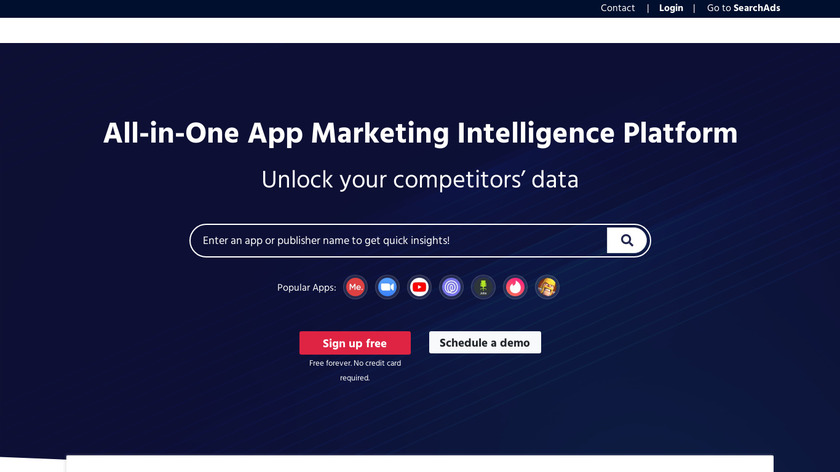 Mobile Action Landing Page