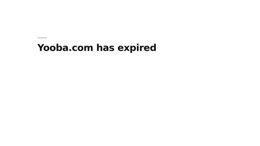Yooba Landing Page