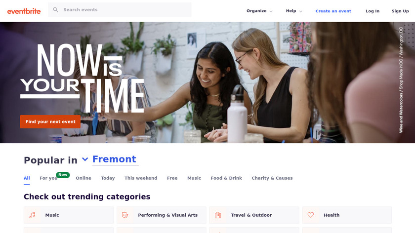 Eventbrite Landing Page