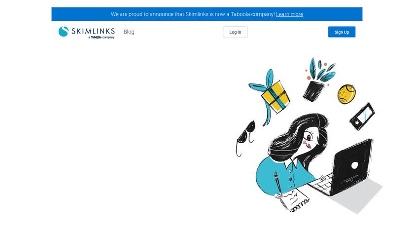 SkimLinks Landing Page
