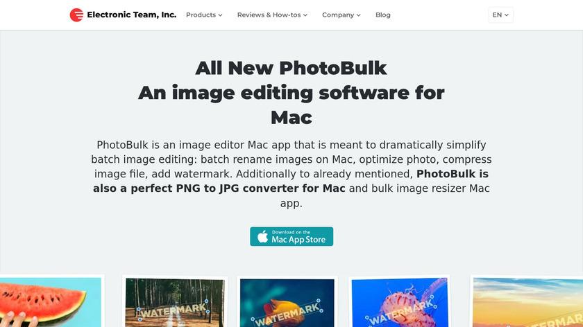 PhotoBulk Landing Page