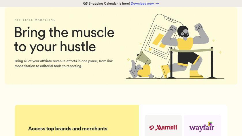 VigLink Landing Page