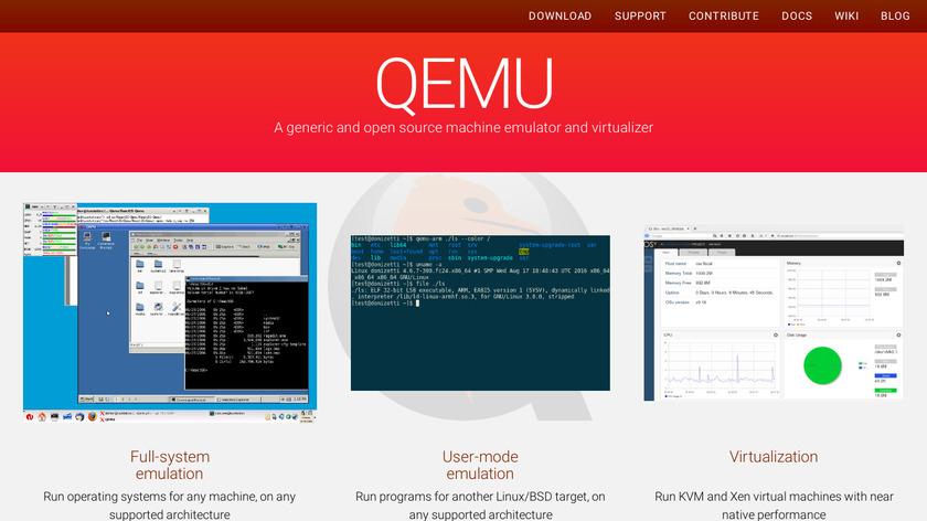 QEMU Landing Page