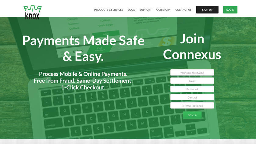 virginia.edu Knox Payments Landing Page