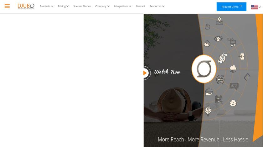 Djubo Landing Page