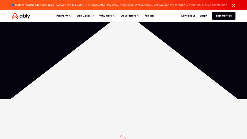 Ably Realtime Landing Page