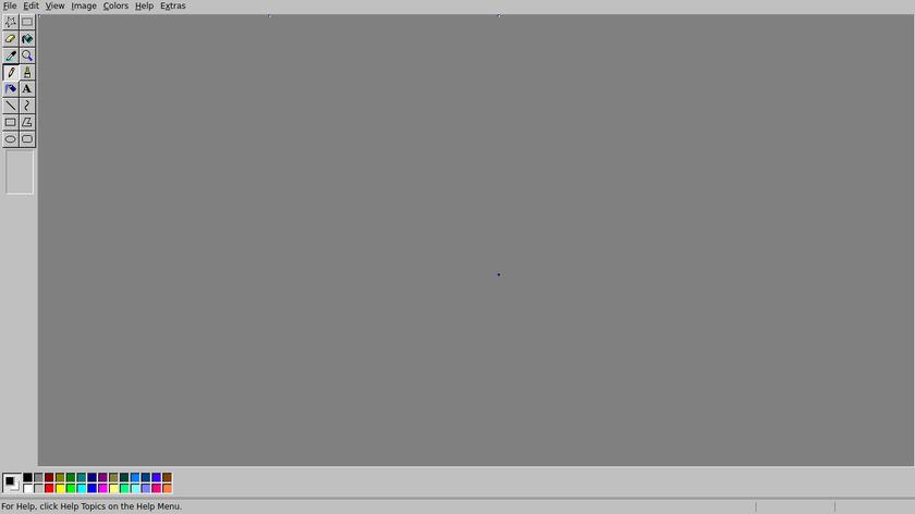 JS Paint Landing Page