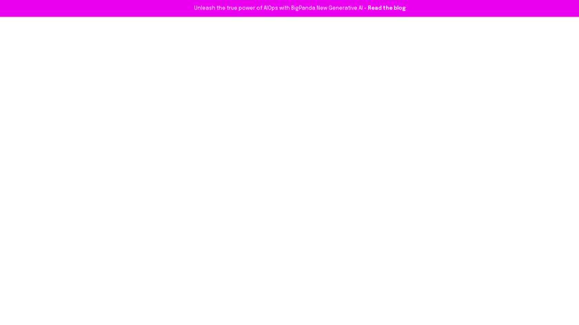 BigPanda Landing Page