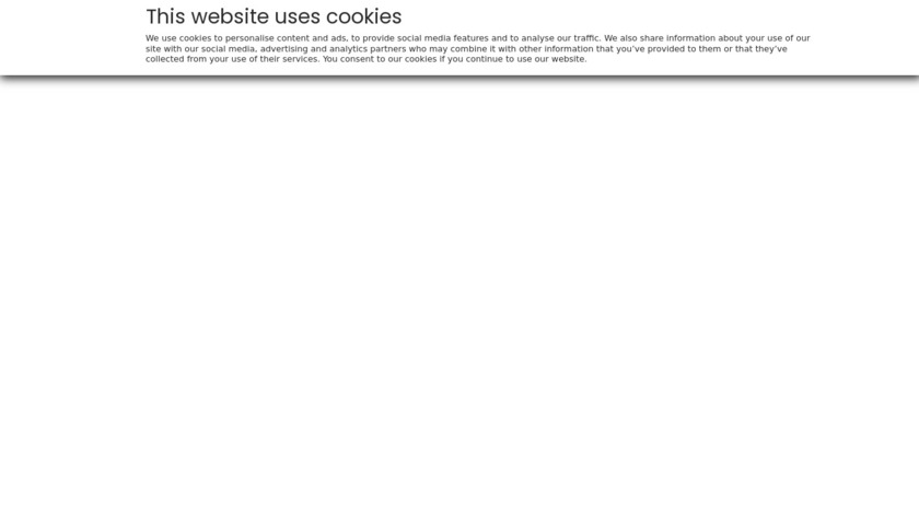 Visual Lease Landing Page