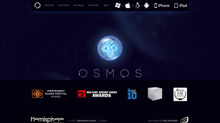 Osmos Landing Page