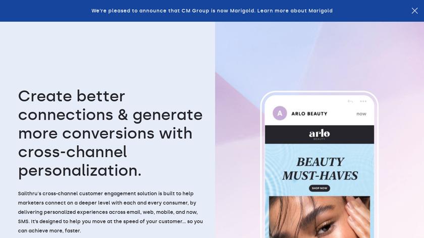 Sailthru Landing Page