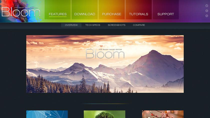 Bloom Landing Page